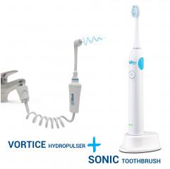 SOWASH SONIC COMBO la brosse à dents + Hydropropulseur
