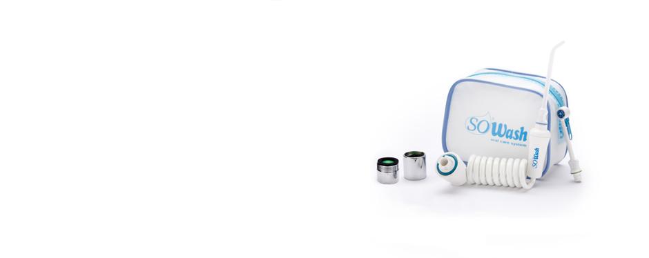 SoWash – Munddusche, für Ihre Zahnhygiene, die an den Wasserhahn angeschlossen wird